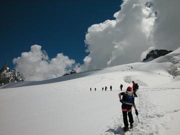 Experience (price per group): Escursione sui ghiacciai del Monte Bianco