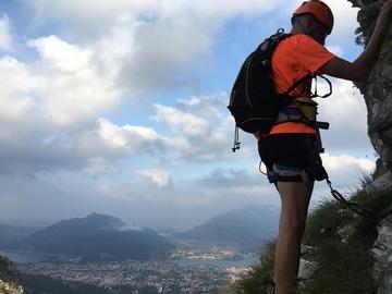 Entdeckung (preis pro gruppe): Ferrata Simone Contessi al Monte Duemani