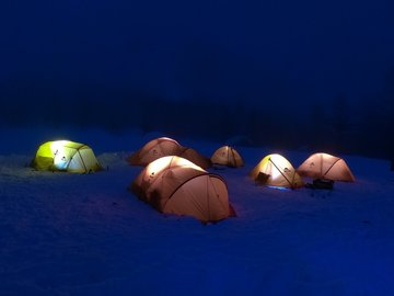 Experience (price per person): Winter Camp