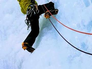 Experience (price per group): Ice climbing