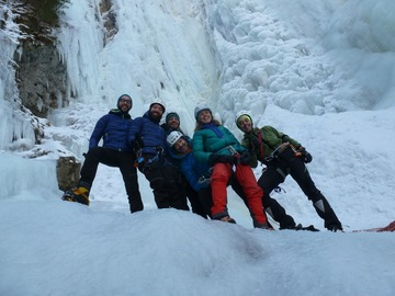 Experience (price per person): Corso Ice climbing