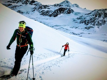Experience (price per person): Sci Alpinismo/Ski Touring
