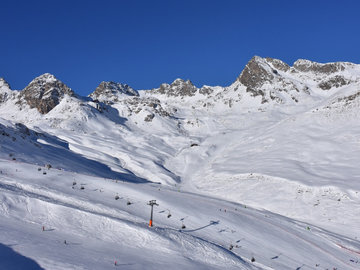 Experience (price per person): Ski lesson St. Moritz: Diavolezza-Corvatsch-Pontresina (full day)