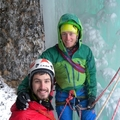 Private Experience (price per group): Ice climbing in the Dolomites