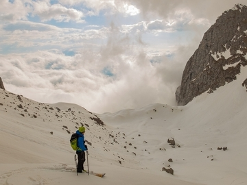Private Entdeckung (preis pro gruppe): Ski Mountaineering in the Alps