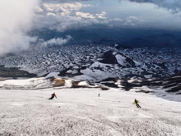 Adventure (price per person): Etna Ski Alp