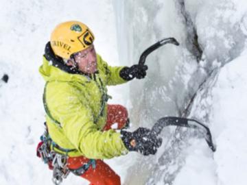 Esperienza Social (prezzo a persona): Eisklettern für Einsteiger/Fortgeschrittene