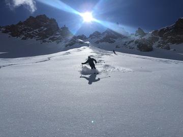 Adventure (price per person): Ski mountaineering in the Maira Valley