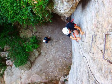 Experience (price per person): Via Ferrata Montserrat Mountain, Barcelona