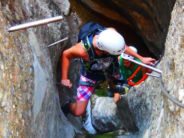 Experience (price per person): Pyrenees Via Ferrata