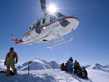 Experience (price per group): Heliski divertimento TOP