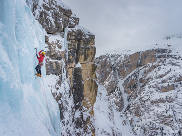Experience (price per person): Ice climbing test day