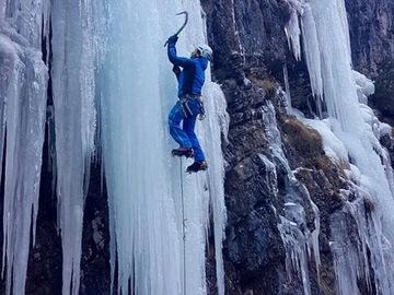 Experience (price per group): Ice Climbing in Dolomites (Marmolada, Cortina, Sappada)