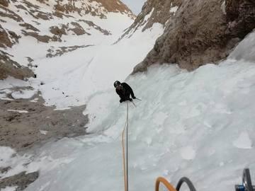 Experience (price per person): Ice Dolomites Sassolungo Goulotte Mistica