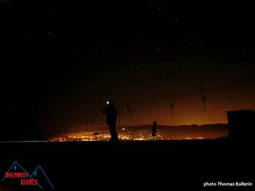 Experience (price per person): Escursione con le Ciaspole al chiaro di Luna