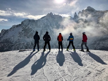 Experience (price per group): Discover the Dolomites
