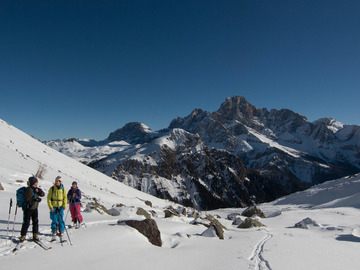 Experience (price per person): Freeride in Dolomiti (Forcella Ceremana)