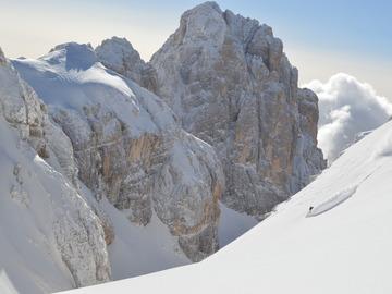 Experience (price per person): Freeride in Dolomiti (Val Pradidali - Passo di Ball - Scalette)