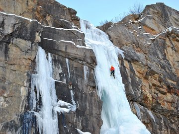 Adventure (price per group): Ice Climbing Cogne