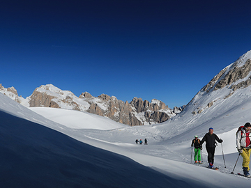 Esperienza (prezzo a persona): Scialpinismo in Dolomiti  Attraversata delle Pale di San Martino