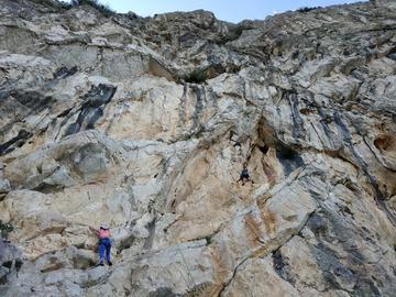 Entdeckung (preis pro person): Sport climbing in Sicilia Taormina