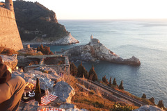Adventure (price per person): New Year's Eve in a refuge -between sea and mountain -Portovenere