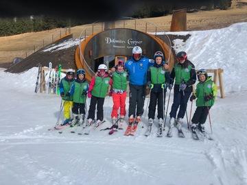Experience (price per person): Skiing lesson in Pozza and Vigo