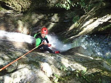 Experience (price per person): Canyoning in Toscana Rio Selvano