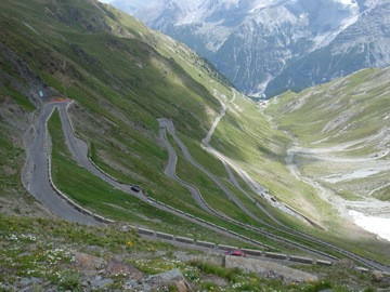 Experience (price per person): Stelvio with the racing bike