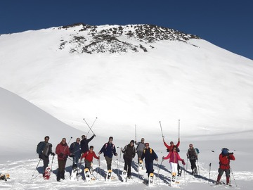 Experience (price per person): Etna Snowshoes