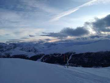 Experience (price per person): Sunrise experience in Livigno