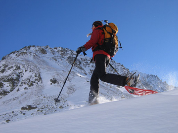 Adventure (price per person): Light on the snow snowshoeing on the snows of the Queyras