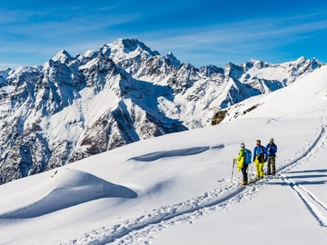 Experience (price per person): Ski mountaineering in Central Alps - 1 day or workshop