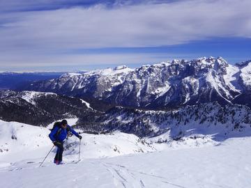 Adventure (price per person): Sci alpinismo facile a Madonna di Campiglio