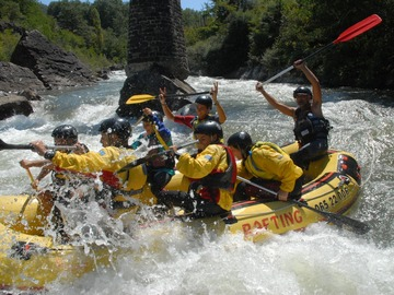 Experience (price per person): RAFTING IN TUSCANY River Lima