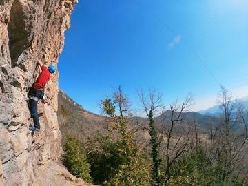 Adventure (price per group): Rock climbing near Barcelona