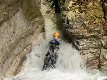 Experience (price per person): Canyoning RIO ANIA