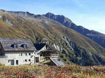 Experience (price per person): Hike Ischgl to the Friedrichshafner Hut