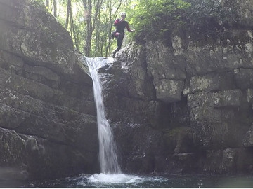 Entdeckung (preis pro person): Canyoning Vajo dell'Orsa - easy version