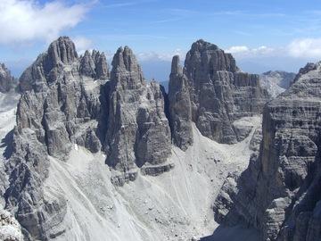 Experience (price per person): Campanil Basso - Climbing in the Dolomites