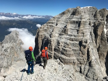 Experience (price per person): D'Ambiez Peak 3095m