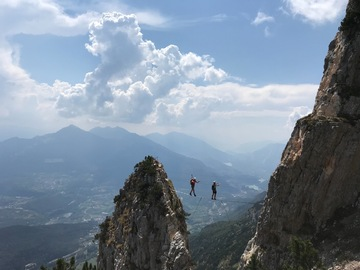 Experience (price per person): Via Ferrata delle Aquile