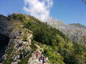 Experience (price per person): Epic ascent to Monte Forato!