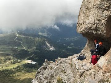 Experience (price per person): VIA FERRATA IN THE DOLOMITES - Sentiero Vidi