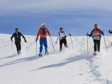 Experience (price per person): Snowshoe hikes in the Adamello Brenta Nature Park
