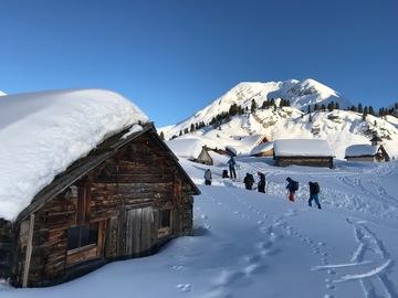 Entdeckung (preis pro person): Schneeschuhwanderung in Madonna di Campiglio