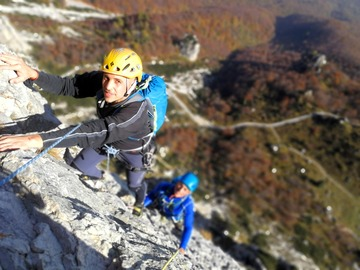 Experience (price per person): Climbing the Little Dolomites