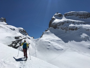 Experience (price per group): Cima Sella 2.913m - Ski touring
