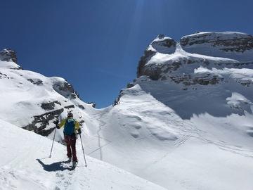 Experience (price per group): Cima Sella 2.913m - Ski touring