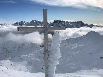Experience (price per group): Cima Serodoli 2.705m - Ski touring